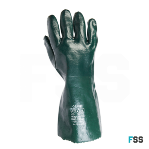 Warrior green double dipped glove 0111gdd1a