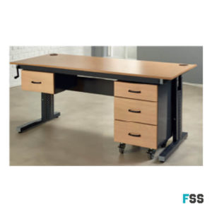 Triple Office Drawer Pedastal