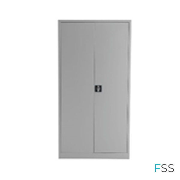 LOCKABLE-DOUBLE-DOOR--METAL-CABINET